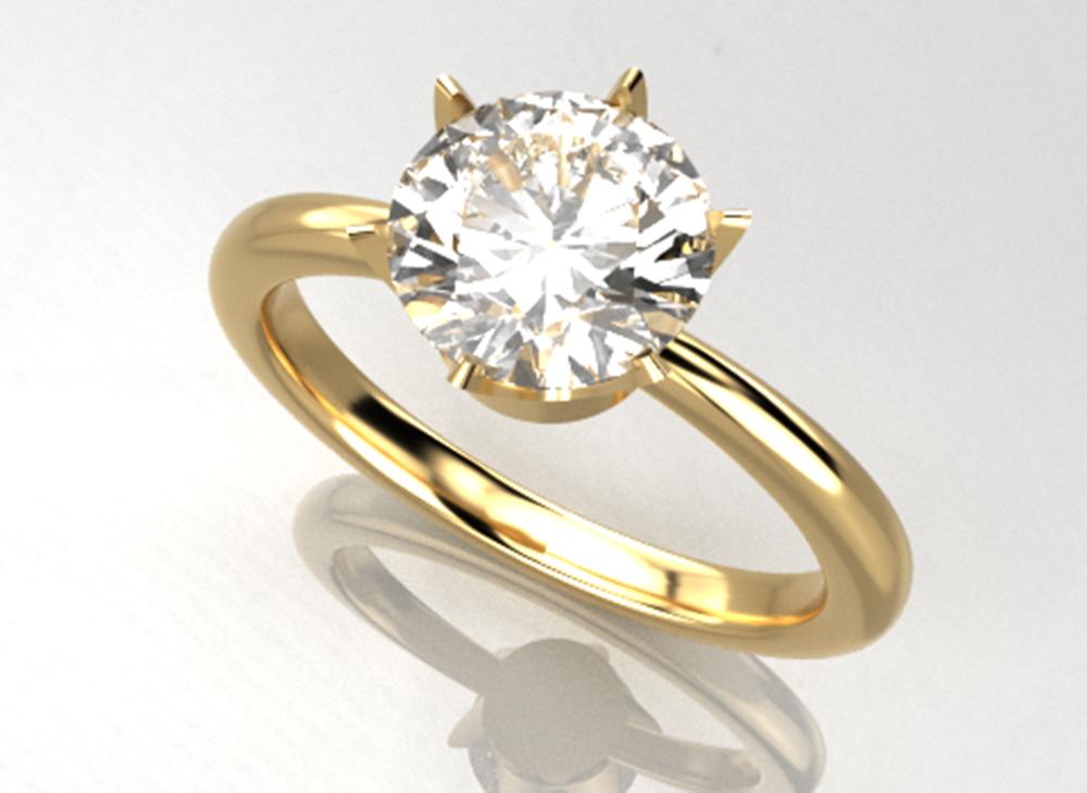 婚約指輪のデザイン例