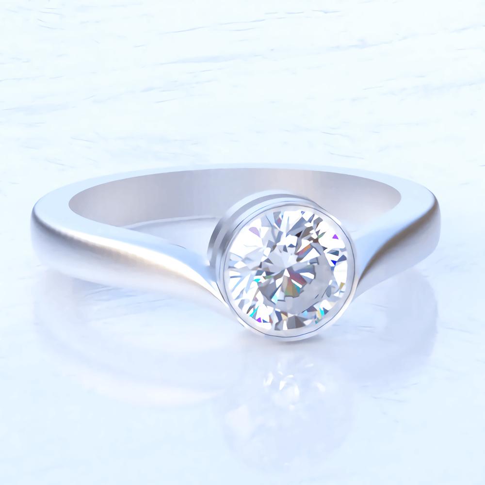 宝石の美しさを最大限に、細部までこだわったデザイン