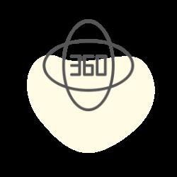 360度回転デザイン画